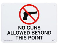 サインプレート銃を保有しています