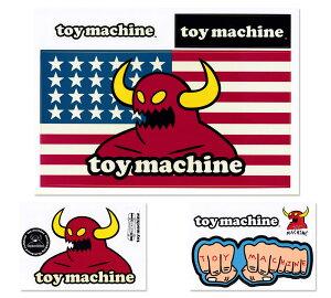 トイマシーン ステッカー ブランド スケボー スケートボード ストリート系 アメリカン 車 アウトドア スーツケース おしゃれ かっこいい カーステッカー アメリカン雑貨 Toy Machine B5ダイカッ