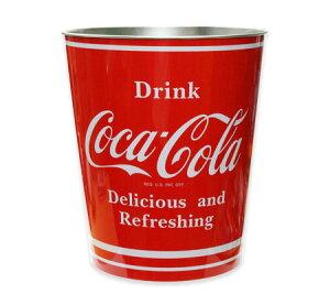 コカコーラ グッズ バケツ ゴミ箱 おしゃれ リビング アメリカ アメリカン雑貨 ティンバケツ_BT-PTBXA4-HYS