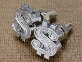 ナンバープレートボルト(ライセンスボルト)2個セット/ダラー