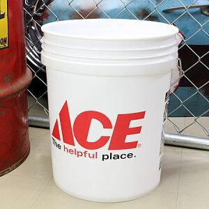 バケツ 洗濯機 おしゃれ アメリカ 洗車 エースハードウェア ACE Hardware 約19リットル サイズL_BT-IGAC001-MON