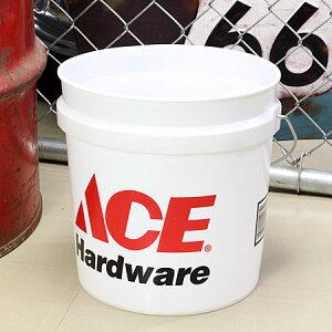 バケツ 洗濯機 おしゃれ アメリカ 洗車 エースハードウェア ACE Hardware 約7.5リットル サイズS_BT-IGAC002-MON