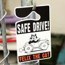 フィリックス・ザ・キャット カー用品 キャラクター カーアクセサリー 猫 FELIX THE CAT パーキングパーミット アメリ…