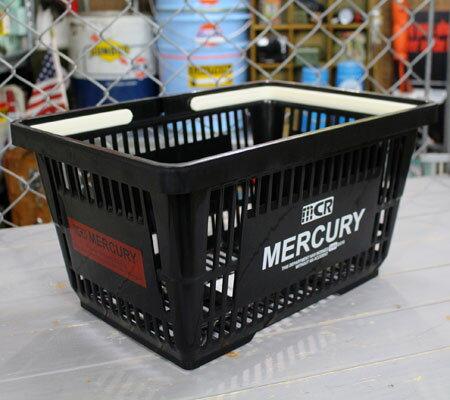 バスケット買い物かごスーパーマーケット洗濯物かごマーキュリーMERCURYブラックの中