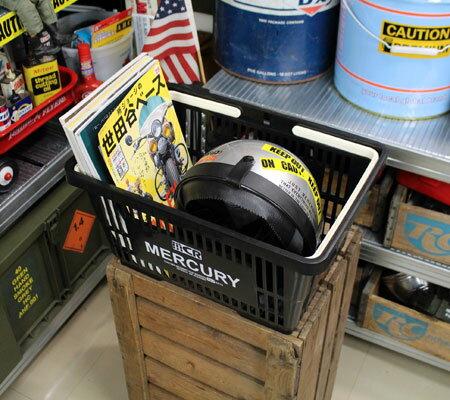 バスケット買い物かごスーパーマーケット洗濯物かごマーキュリーMERCURYブラックの使用例
