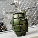 ソープディスペンサー キッチン ミリタリー ミリタリーグッズ 手榴弾 ジョーク 面白い おしゃれ アメリカ アメリカン…