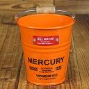 マーキュリー ミニバケツ おしゃれ 小物入れ ペンホルダー 鉢 MERCURY アメリカ アメリカン雑貨 オレンジ_MC-C170OR-…