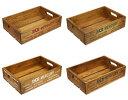 マーキュリー 木箱 ウッドボックス 収納ボックス アンティーク 収納 小物入れ MERCURY アウトドア キャンプ アメリカ アメリカン雑貨 ウッドクレート_MC-WOODCRATE-MCR