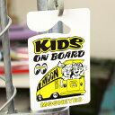ムーンアイズ カー用品 ルームミラー 飾り KIDS IN CAR 子供が乗っています ホットロッド MOONEYES パーキングパーミ…