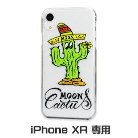 ムーンアイズ iPhone ケース iPhone XR 10 テン アイフォンXR アイフォンケース カバー ジャケット 車 バイク ホットロッド アメリカ MOONEYES ムーンカクタス 【メール便OK】_SA-MG841CL-MON