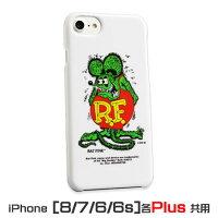 ラットフィンクiPhone7Plus/6Plus/6sPlusケースホワイト