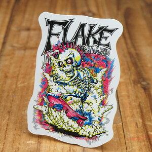 ステッカー スケートボード 車 アメリカン スカル スノーボード おしゃれ バイク ヘルメット かっこいい カーステッカー フレイク FLAKE Explosive Fracture 【メール便OK】_SC-FLS001-ACT