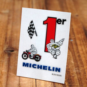 ステッカーセット 車 ミシュラン アメリカン おしゃれ バイク ヘルメット かっこいい タイヤ フランス ビバンダム ミシュランマン カーステッカー Michelin No.1 【メール便OK】_SC-R859-TMS