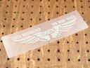 アメリカンミリタリーステンシル転写ステッカー 「弱肉強食」 カーステッカー 【メール便OK】_SC-PST029-SXW