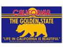 ステッカー アメリカン おしゃれ かっこいい カリフォルニア 熊 動物 トラベル BADASS STICKER SUPPLY ブルー 【メー…