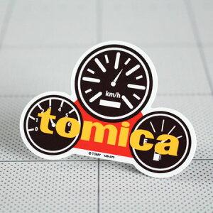 ステッカー 車 バイク かっこいい おしゃれ ヘルメット アメリカン カーステッカー レトロ 昭和 ミニカー トミカ tomica 【メール便OK】_SC-LCS373-GEN