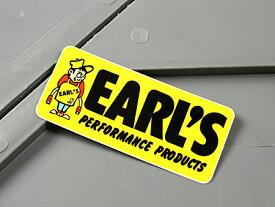 ステッカー アールズ バイク 車 アメリカン かっこいい カーステッカー ホットロッド EARL'S 【メール便OK】_SC-MS010-FEE