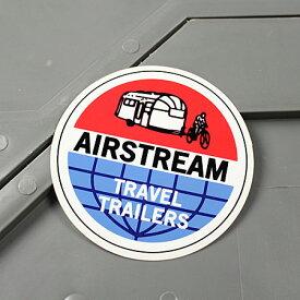 ステッカー エアストリーム キャンピングトレーラー 車 アメリカン かっこいい カーステッカー アウトドア AIRSTREAM 【メール便OK】_SC-MS114-FEE