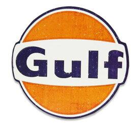 ガルフ GULF 看板 サインプレート アンティーク レトロ アメリカン おしゃれ 壁 飾り メンズ ガレージ かっこいい ウォールデコ アメリカン雑貨 US EMBOSSED SIGN_SP-004-UNT