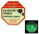 セキュリティ ダミー サインプレート 防犯カメラ アメリカン おしゃれ 壁 飾り 面白い メンズ ガレージ かっこいい ウ…