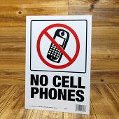 サインプレート(案内表示板)携帯電話禁止サイズS