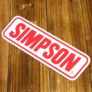 ステッカー 車 アメリカン おしゃれ バイク ヘルメット かっこいい カーステッカー SIMPSON シンプソン 【メール便OK】_SC-R293-TMS