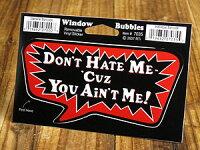 バブルステッカー/7035/私を嫌いにならないで、なぜならあなたは私じゃないんだから!