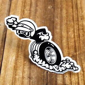 ステッカー 車 世田谷ベース アメリカン おしゃれ バイク ヘルメット かっこいい 動物 蟻 カーステッカー ウィリーアント 左向き 【メール便OK】_SC-WA01L-SXW