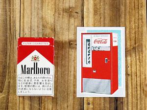 コカコーラステッカー/CC-BA6/VendingMachineの大きさ