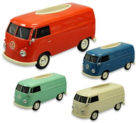 ワーゲンバス ティッシュケース ティッシュボックス 車 おしゃれ ミニカー かっこいい 小物入れ VW フォルクスワーゲン アメリカン アメリカン雑貨 1/16 WELLY_TC-WT91401PT-HYS