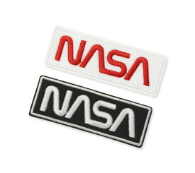 NASA ワッペン アイロン アメリカン アメカジ おしゃれ かっこいい 宇宙 ジャケット トートバッグ アメリカン雑貨 Embroidery Patch Warm Set 2ピースセット 【メール便OK】_WP-NFC001W-DGT