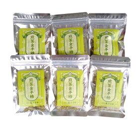 煎茶金平糖40g×6袋セット【出雲市・原寿園】島根県産やぶきた茶(煎茶こんぺいとう)【メール便】