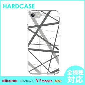 iphone11 iphone8 スマホケース スマホカバー iphoneカバー 全機種対応 カバー iPhone ハードケース iPhone7 iphone6 iPhone7ケース アイフォン アイフォン7 Xperia XperiaZ5 XperiaZ3 GALAXY ARROWS AQUOS クリア クリアケース 幾何学模様 柄 シンプル デザイン おしゃれ