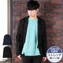 ◆ポンチカットテーラードジャケット◆テーラードジャケット メンズ ジャケット アウター メンズファッション 服 秋 …