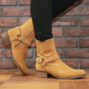 ◆roshell(ロシェル)ポインテッドドレープブーツ◆メンズブーツメンズブーツエンジニアブーツロングブーツロングドレープメンズカジュアルブーツシューズ靴レザー黒お兄系ヴィジュアル系メンズファッション