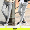 Jogger underwear men sweat shirt underwear / jogger & tapered pants / fashion lower slim on the small side underwear gray camouflage autumn clothes winter clothes sweat shirt sweatpants patterned stars Star-Spangled Banner line