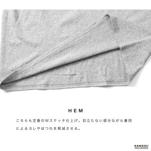 ◆KANGOL(カンゴール)刺繍ロゴTシャツ◆Tシャツクルーネック夏服メンズ半袖無地カットソー半袖Tシャツおしゃれティーシャツサーフ系メンズファッション白黒夏服