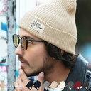 ニット帽 メンズ◆roshell(ロシェル) テレコカラーニット帽◆ニットキャップ 帽子 ビーニー帽 ビーニー ニットキャッ…