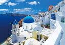 EPO-31-010 カラフルな街並み イアのブルードーム−ギリシャ 1053スーパースモールピース ジグソーパズル 【あす楽…