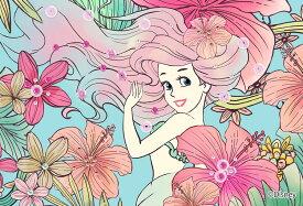 EPO-70-010 ディズニー Royal Floral(アリエル)(リトルマーメイド) 70ピース ジグソーパズル 【あす楽】[CP-D][CP-PD] パズル デコレーション パズデコ Puzzle Decoration 布パズル ギフト プレゼント