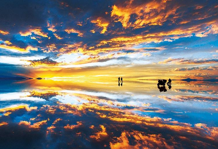 EPO-71-334 風景 ウユニ塩湖 夕景-ボリビア 300ピース ジグソーパズル 【あす楽】