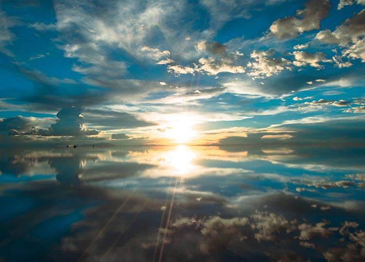 EPO-71-505 風景 神秘のパワースポット 全体運アップ! ウユニ塩湖 500ピース ジグソーパズル 【あす楽】
