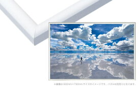 EPP-66-114 パネルマックス No.14 / 10 ホワイト 50×75cm(ラッピング不可) フレーム 【ラッピング対象外】