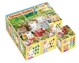APO-13-88 シルバニアファミリー シルバニアファミリー 9コマ キューブパズル パズル Puzzle 子供用 幼児 知育玩具 知育パズル 知育 ギフト 誕生日 プレゼント 誕生日プレゼント