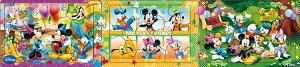 APO-24-112 ディズニー ミッキー&フレンズ みんななかよし 8+12+16ピース パノラマパズル アポロ社 【あす楽】 パズル Puzzle 子供用 幼児 知育玩具 知育パズル 知育 ギフト 誕生日 プレゼント