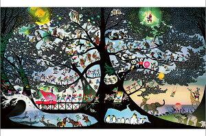 APP-1000-830 藤城清治 生きるよろこび 2011 1000ピース ジグソーパズル パズル Puzzle ギフト 誕生日 プレゼント 誕生日プレゼント