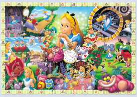 TEN-D108-966 ディズニー アリスの世界(不思議の国のアリス) 108ピース ジグソーパズル