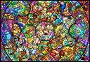 TEN-DS1000-764 ディズニー オールスター ステンドグラス(オールキャラクター) 1000ピース ジグソーパズル