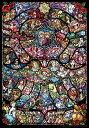TEN-DP1000-028 ディズニー ディズニー&ディズニー/ピクサー ヒロインコレクション ステンドグラス 1000ピース ジ…
