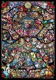 TEN-DP1000-028 ディズニー ディズニー&ディズニー/ピクサー ヒロインコレクション ステンドグラス 1000ピース ジグソーパズル [CP-D] パズル Puzzle ギフト 誕生日 プレゼント 誕生日プレゼント